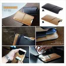 iPhone 7 8 Plus ROCK Pouch Card Pocket Wallet Leather Case Cover *FREE