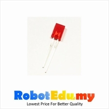 Electronic Component - 2*5*7mm Rectangle LED (RED) *