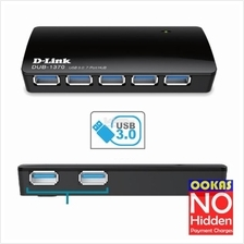 D-Link Super Speed 7 Port USB 3.0 Hub Multiple Extension DUB-1370