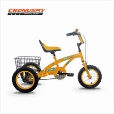 [CRONUS.MY] Asogo 12' Tricycle with Basket A1312522-BC