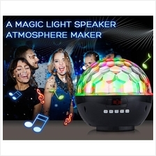 Dreamy Colors Disco Light Bluetooth Speaker (Black)