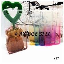Vivo Y35 Y37 Y51 Rainbow Transparent Case