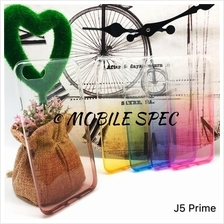 Samsung J5 J7 Prime Note 3 4 5 Rainbow Transparent Case