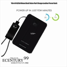 STORMBLACK 12,500mAh QUICK CHARGE 3.0 Power Bank with USB-C