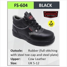 Hercules ESD Safety Shoes Cow Leather Steel Shoes Boot Shoes SKU-604