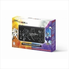 New Nintendo 3DS XL Console Pokemon Solgaleo Lunala Black Edition Sun