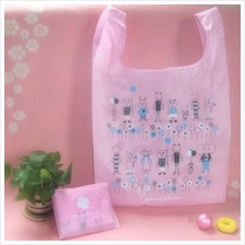 01130 Japanese cute portable shopping bag