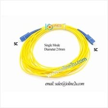 10m SC-SC SM Single Mode fiber optic cable patch cord for Unifi FTTH 9/125 Sim