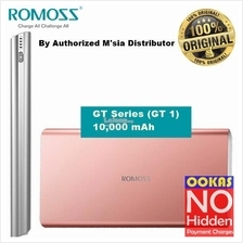 ROMOSS GT1 Li-Polymer Slim 10000mAh Portable Power Bank 2 USB Charger