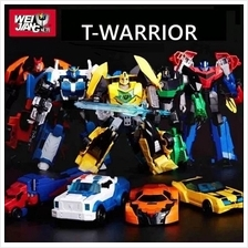Weijiang Transformers Toy T-Warrior Gift Box Optimus Prime Bumblebee