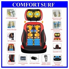Multi-function cervical neck pillow waist back body massage cushion
