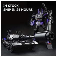 Transformers Alloy Megatron Tank Upgrade Kit BLACK Toy Action Figure