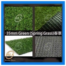 35MM ARTIFICIAL GRASS  ( RM 5.00 1' X 1' )FAKE GRASS, SYNTHETIC GREEN
