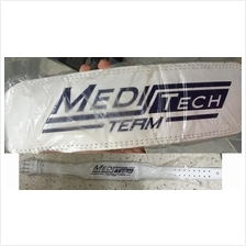 Meditech Leather Gym Belt (Tali Pinggang Fitness gym)