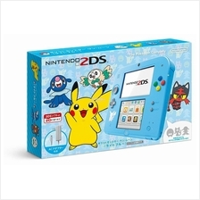Nintendo 2DS Pokemon Sun Moon Light Blue Japanese
