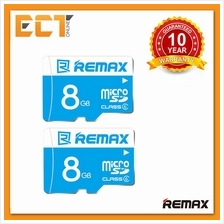 (Bundle) 2 x Remax 8GB Class 6 80MB/s Fast Performance Micro SDHC Card