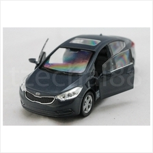 Welly 1:34-1:39 DIECAST KIA Cerato Car Grey Model COLLECTION New Gift