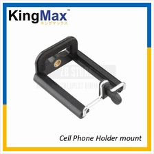 KingMax Cell Phone Holder Mount Camera Stand Clip Converter For Tripod