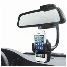 Rear View Mirror Car Holder for Mobiles