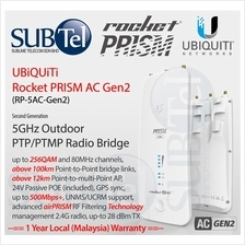 Ubiquiti Rocket 5AC PRISM Outdoor 5GHz PTMP BaseStation UBNT GPS Sync