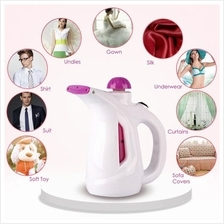 2 in 1 Facial Fabric Cloth Portable Travel Handheld Garment Steamer