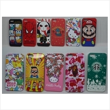 Iphone5 Iphone 5 Cartoon Baby Milo Hello Kitty Back Cover Case Casing