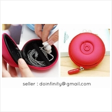 Quality Portable PU Earphone Carrying Hard Storage Case Box iPod MP3