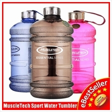 2.2L Large Capacity MuscleTech Fitness Gym Sports Water Bottle Tumbler