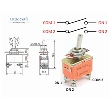 DPST 4 Pins 2 Position 15A 250VAC Toggle Switch