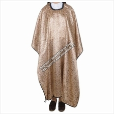 Salon Barber Waterproof Leopard Style Gown Apron Hair Cutting Cape