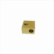 Golden Aluminum block for 3D Printer