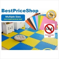 Non Toxin Color Eva Soft Foam Exercise Yoga Gym Kids Play Floor Mat