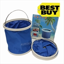 Waterproof Foldable Outdoor Water Bucket Pail 9-11Litre