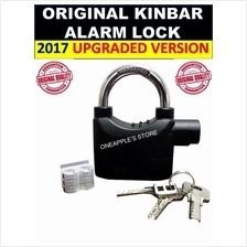 [PROMO]ORIGINAL KINBAR SIREN ALARM PADLOCK for DOOR/Motor/Bike LOCK