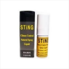 STING PROLONG SPRAY (Tahan Lama Delay) Free 1pc Condom