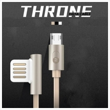 WK Throne Data Cable ( 2-in-1 Lightning & Micro USB )