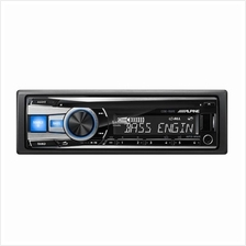 Alpine CDE-152E Single DIN CD USB Aux iPOD Controller Car Receiver