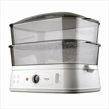 Trio TFS-18 Food Steamer 10L (White Grey)