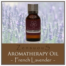 ZENSUOUS Aromatherapy Oil - French Lavender