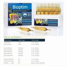 Prodibio Bioptim, nutrients for bacteria in saltwater - 12vial