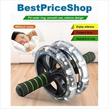 Super Stable & Silent Double Wide Ab Roller - Best Ab Wheel six packs