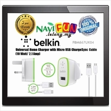 ★ Belkin: Universal Home Charger with Micro USB ChargeSync Cable