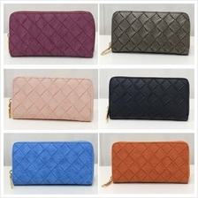 Ladies Weave Wallet (6 Colours Available)