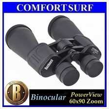 Bushnell Binocular Telescope PowerView 60x90 Coated Optics Green Film