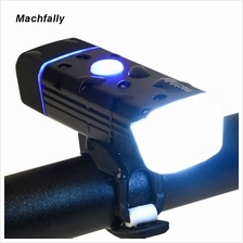 (Import) Machfally 5W Bicycle LED Front Light USB Rechargeable 1200mAH