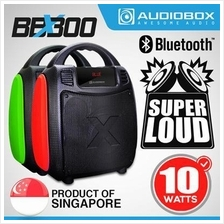 AudioBox BBX300 Light Weight Bluetooth BoomBox Portable Speaker