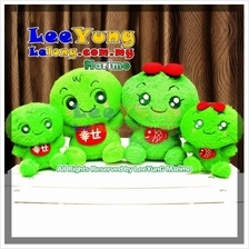 Authentic Hokkaido Marimo Cladophora Plush Doll Toy Valentine Gifts!