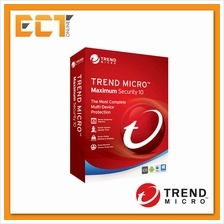 Trend Micro Maximum Security 10 Cloud Edition (1 PC / 1 Year)