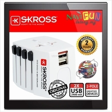 ★ SKROSS World USB Charger [MUV] 2.4A Travel Adapter