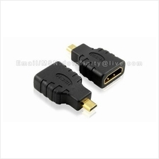 Micro HDMI Male to HDMI Female Adapter Converter Camera Phone Tablet